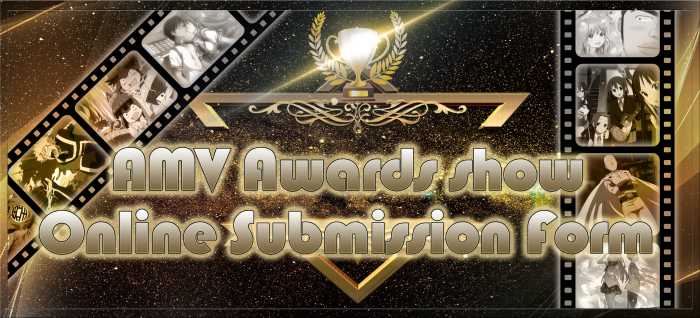 AMV AWARDS SUBMISSION FORM BANNER