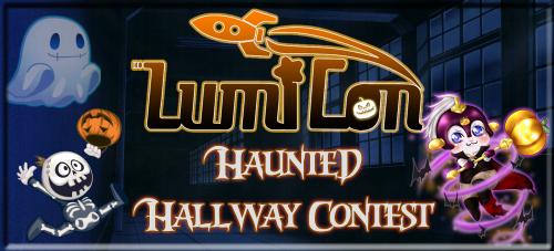Haunted Hallway Banner
