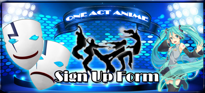 OAA Sign up form