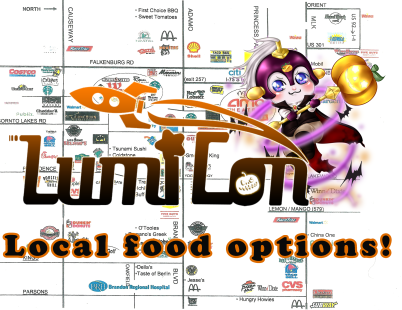 LUMICON food map A