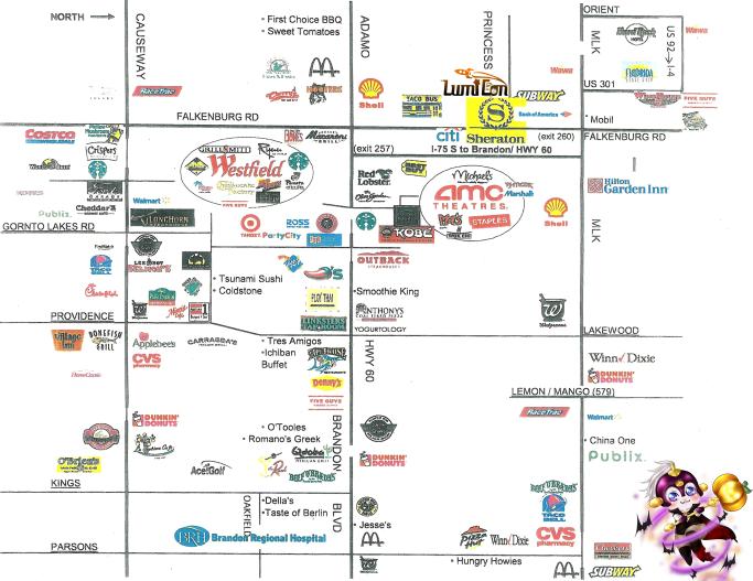 LUMICON food map