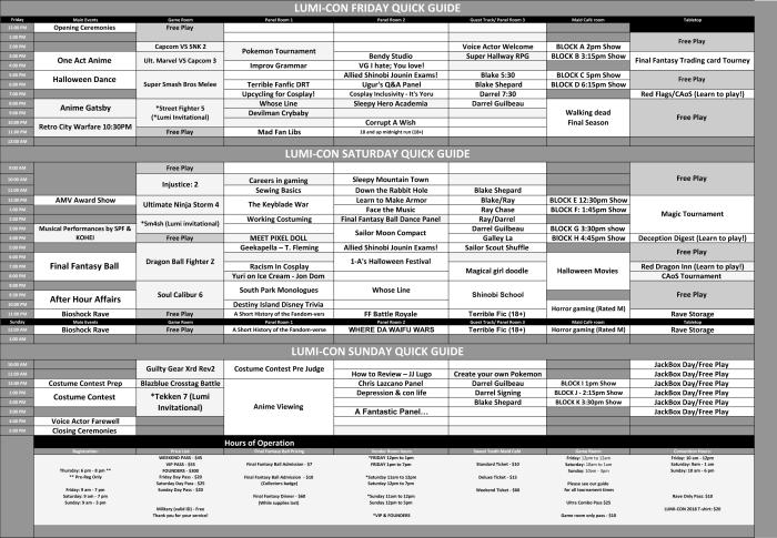 LUMI-CON quick guide 2018 (ONLINE Ver)