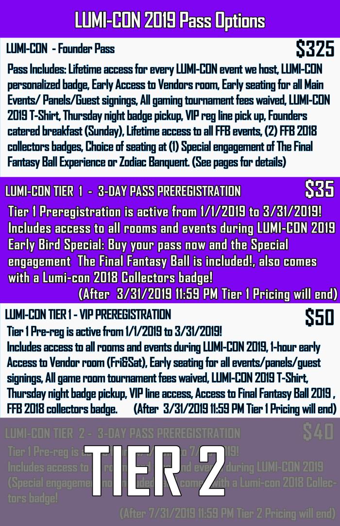 ticket info 2019