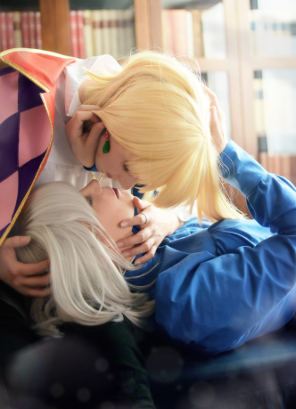 Howl and Sophie from Howl's Moving Castle