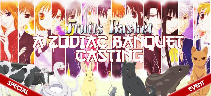 Zodiac Banquet Casting