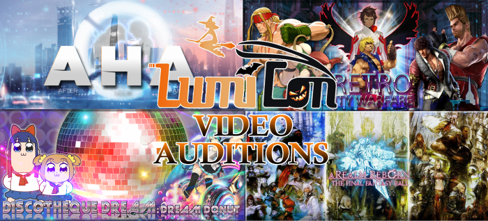 Video auditions banner
