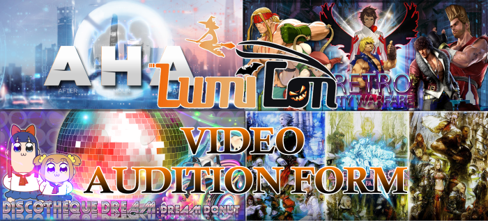 Video auditions form