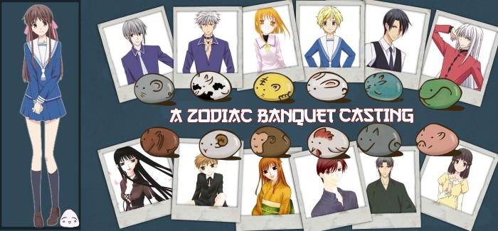 Zodiac Banquet Cast Sheet