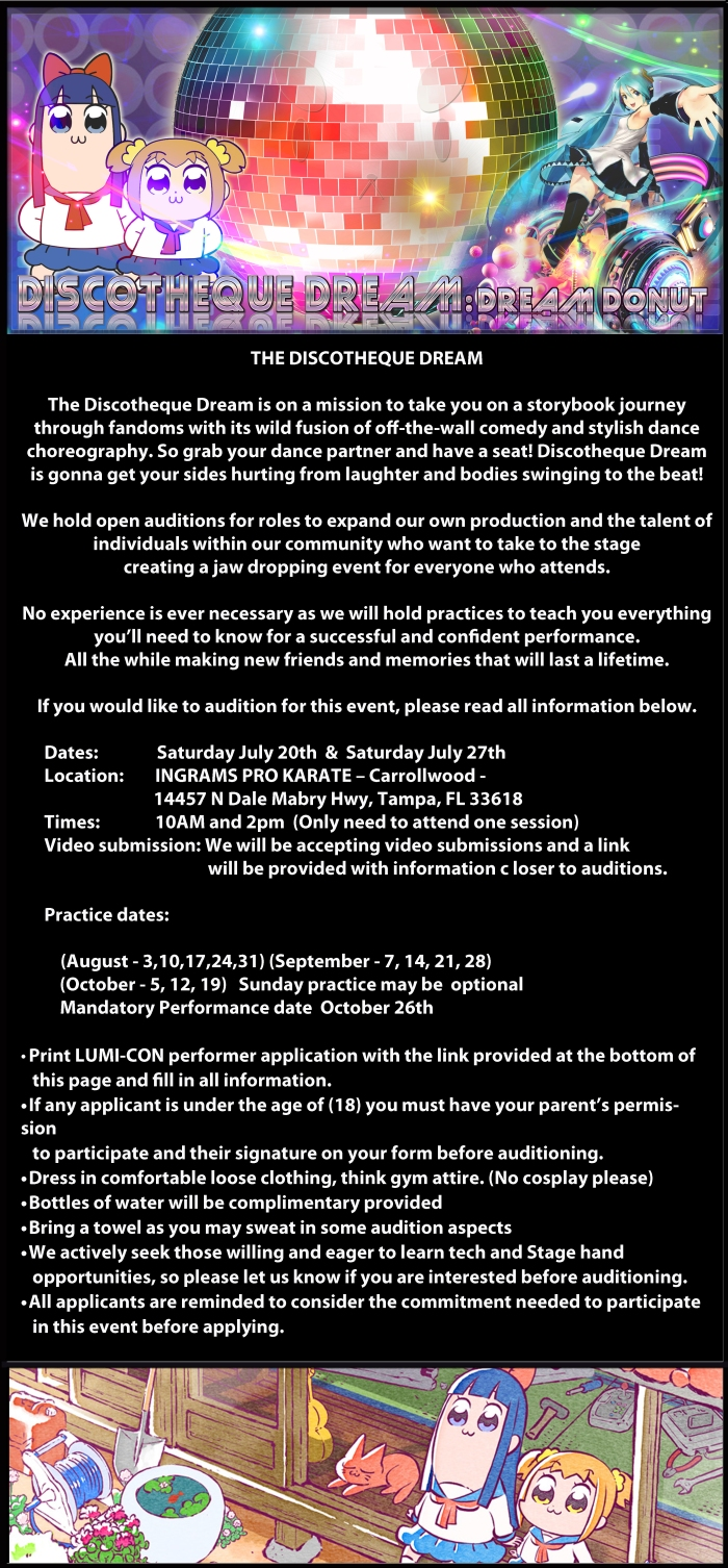 DD Audition info 2019