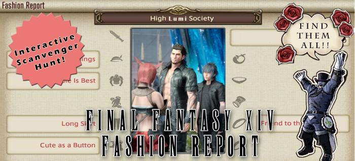 FFXIV Fashion report