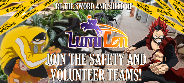 Announcment Safety Volunteers
