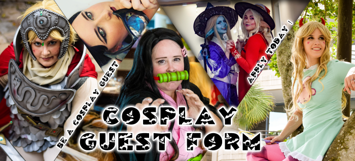 Cosplay Guest form
